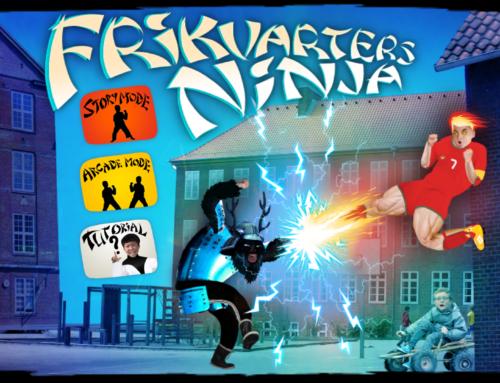School Yard Ninja with Four Hands Film